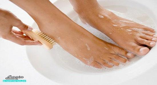 جوانسازی پوست پا