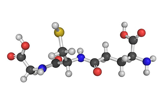 ساختار مولکولی گلوتاتیون