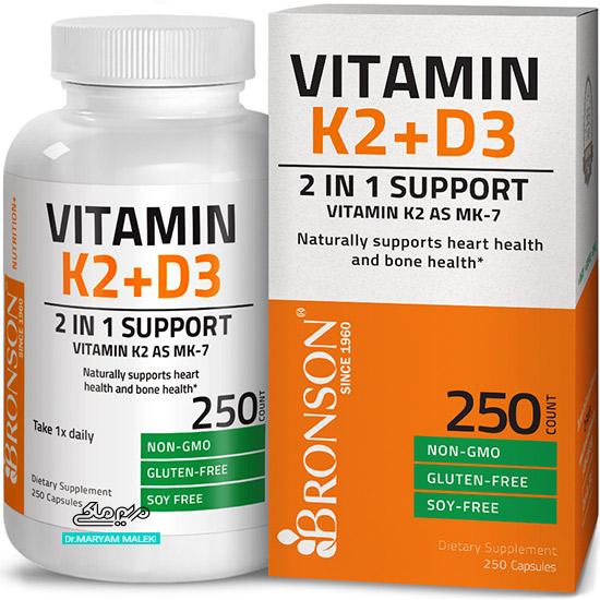 قرص ویتامین K2  همراه با D3