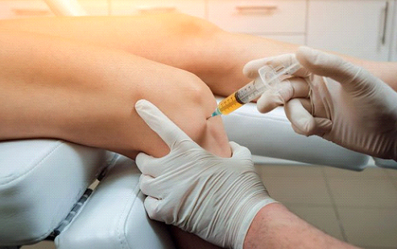 تزریق پلاسما برای بهبود درد زانو
