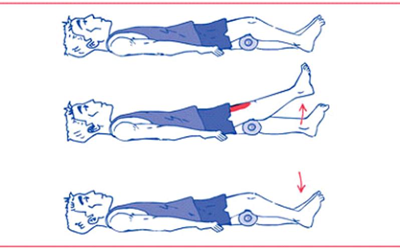 نرمش هایی برای تقویت عضلات چهارسر ران