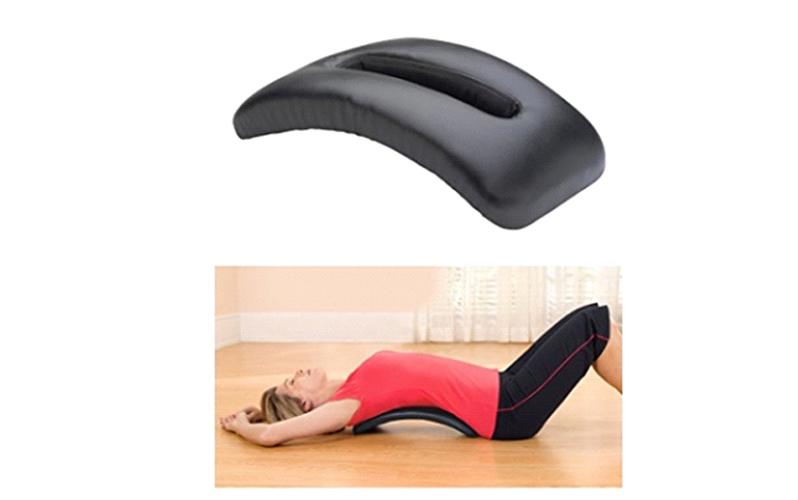 پشتی کشش کمر ، وسیله ساده برای برطرف کردن درد