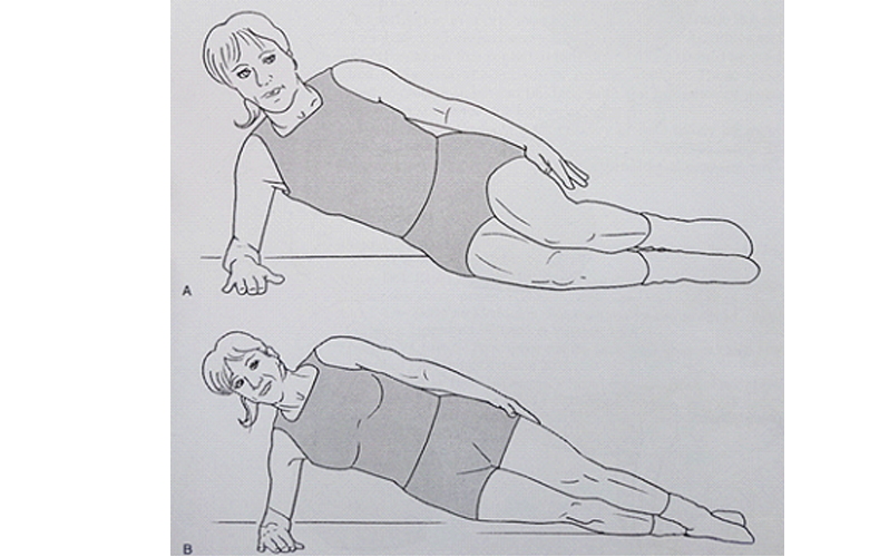 تقویت عضله مربع کمری
