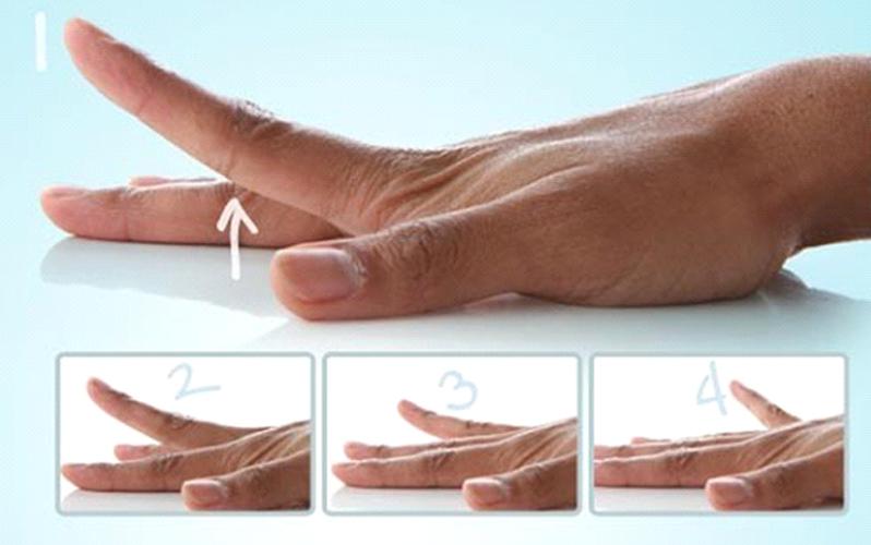 درمان انگشت ماشه ای