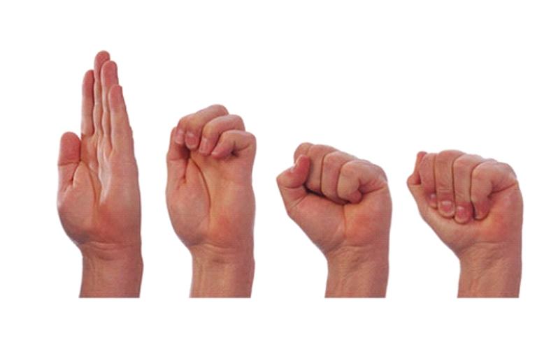 درمان و بهبود انگشت ماشه ای با ورزش