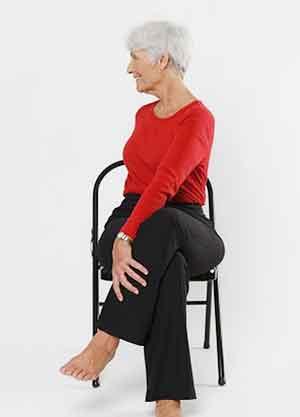 درمان آرتروز با حرکت چرخش کمر
