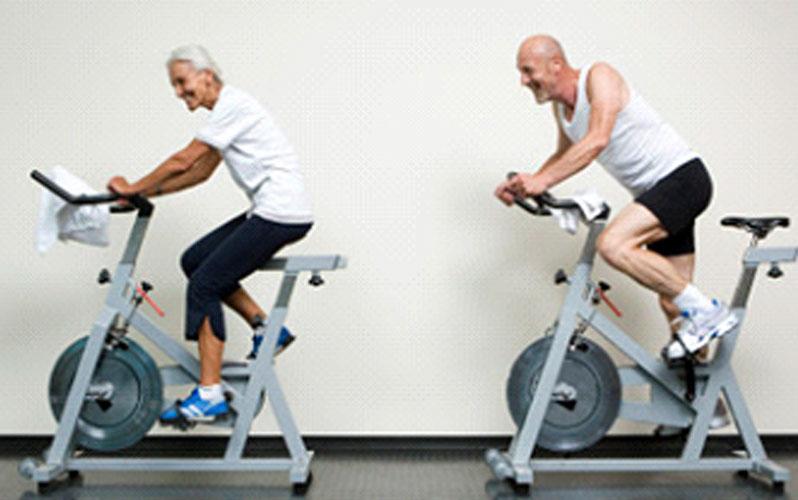 دوچرخه ثابت ، ورزش های بهبود درد زانو