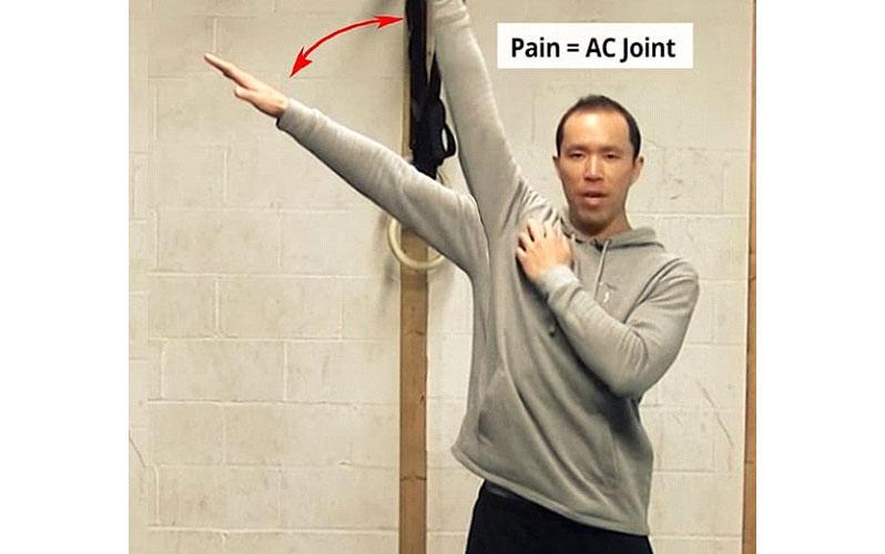 نشانه های درد مفصل اکرومیوکلاویکولار