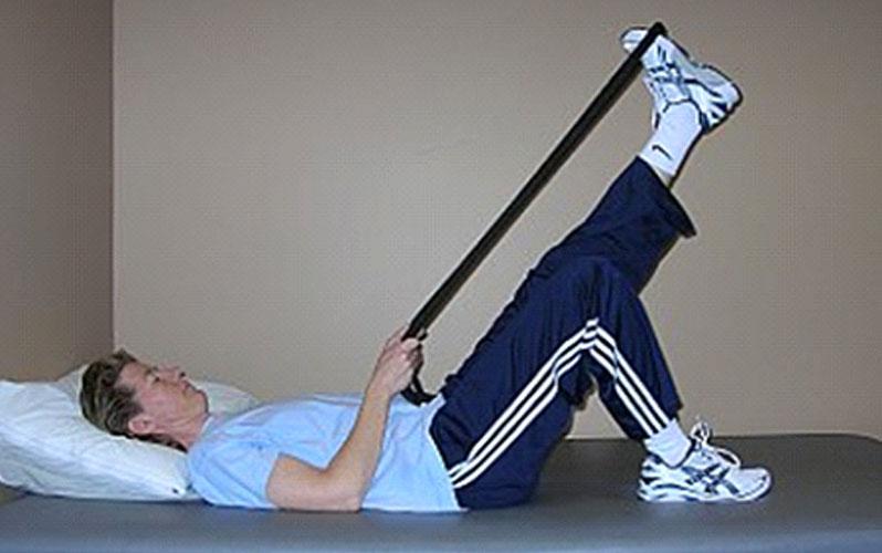 کشش عضله همسترینگ ، ورزش برای مفاصل فاست کمر