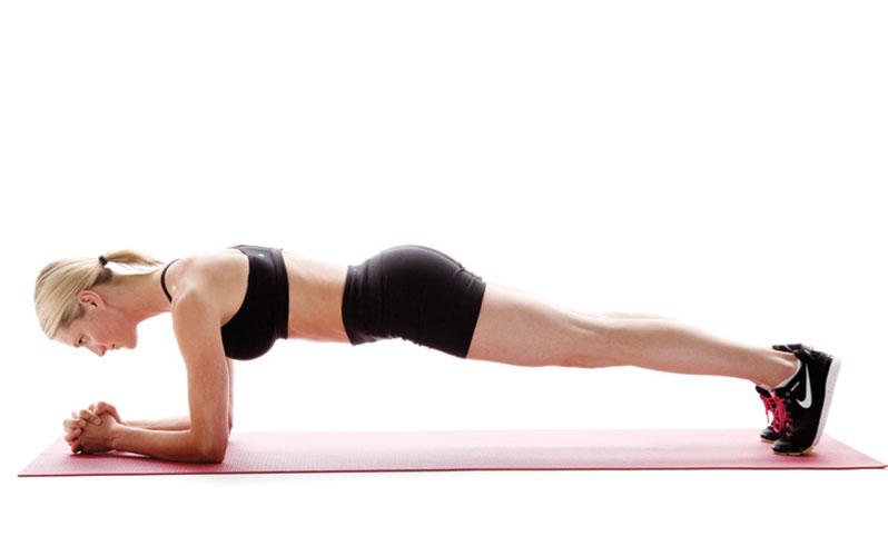 حرکت پلانک برای درد تحتانی کمر