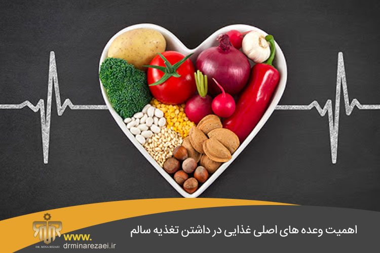 اهمیت وعده های غذایی