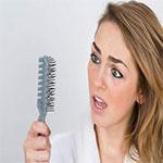 علل ريزش مو در زنان