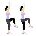 داشتن باسنی سفت و خوش فرم با حرکات ورزشی
