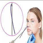 درمان افتادگی پوست صورت با نخ