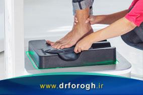 اسکن کف پا و ضرورت آن جهت ساخت کفی طبی
