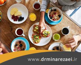 اهمیت وعده های اصلی غذایی در داشتن تغذیه سالم