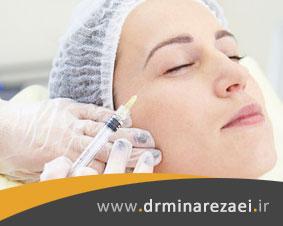 درمان لک صورت با مزوتراپی