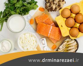 منابع غذایی سرشار از آنتی اکسیدان، آب و ویتامین D
