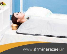 عملکرد دستگاه ترمودرمی در تشک برقی و لاغری