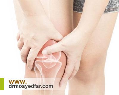 علائم شکستگی کشکک زانو