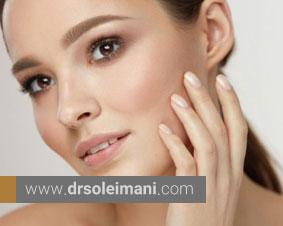 اختلال عملکرد طبیعی پوست با کرم پودر های آرایشی