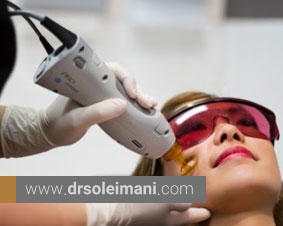 ترمیم و جوانسازی پوست با لیزر فرکشنال