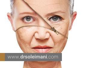 چرا پوست پیر میشود؟