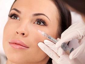 درمان گودی زیر چشم با تزریق ژل
