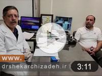 ویدئوی شماره 12 - درمان هرنی دیسکال اکسترود L2L3 با لیزر پلاسما، نتایج یک ماه بعد از عمل