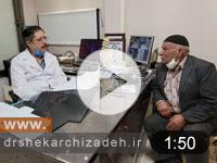 ویدئوی شماره 43- دیسک فورامینال L3L4 درمان با لیزر پلاسما، نتایج یک ماه بعد از عمل